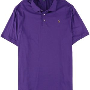 RALPH LAUREN POLO CLASSIC FIT MENS SHIRT PURPLE